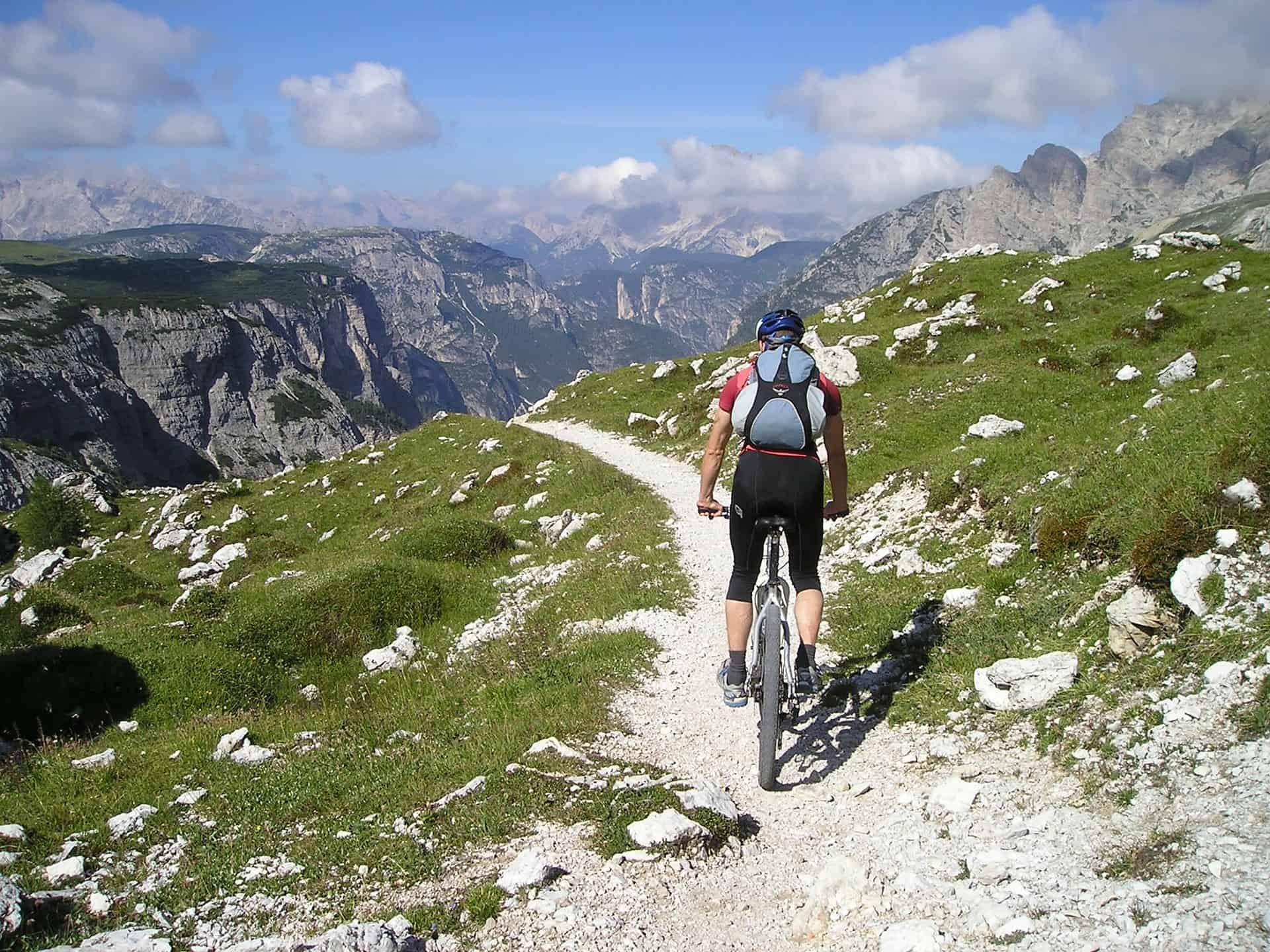Mountain bike túra