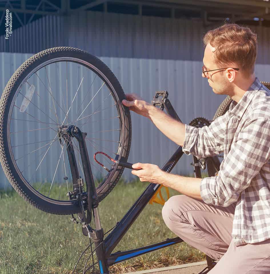 bicikli karbantartása