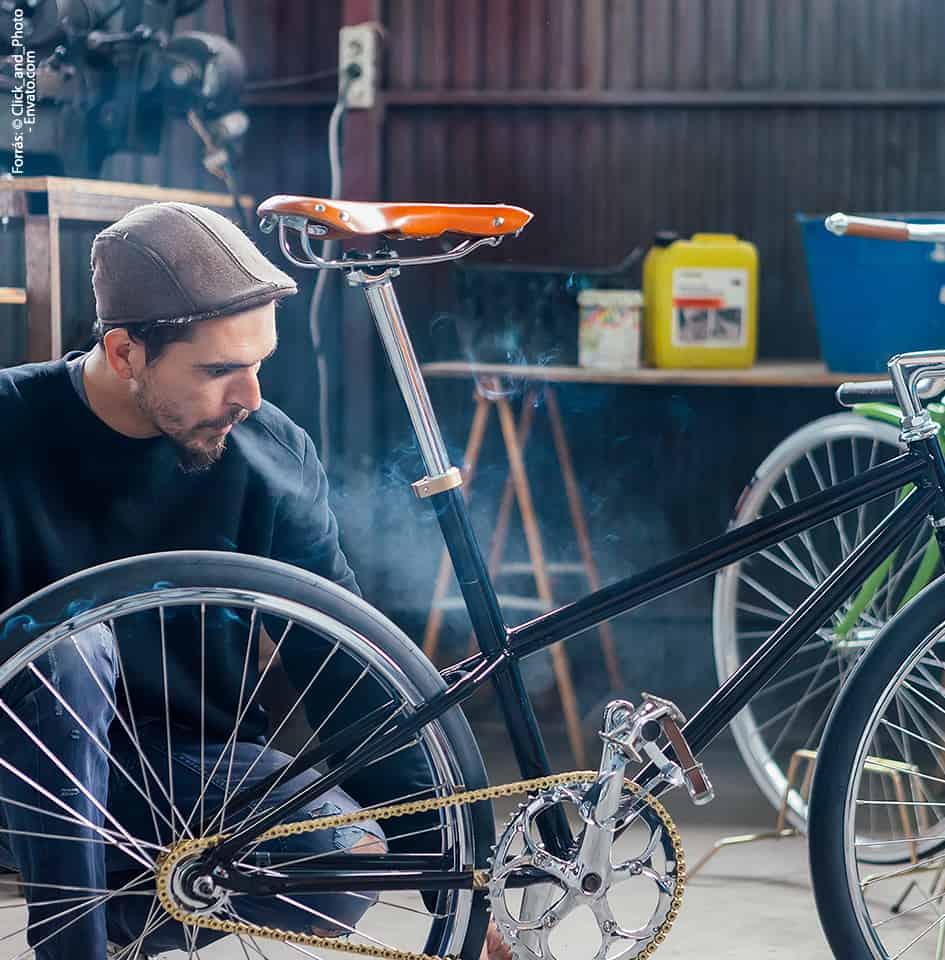 bicikli tisztítás